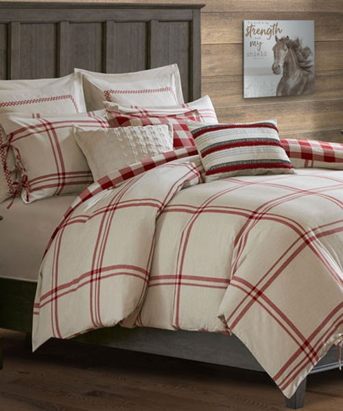 Woodland Cabin Bedding