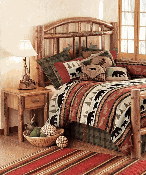 Moose Creek Log Bedroom Furniture