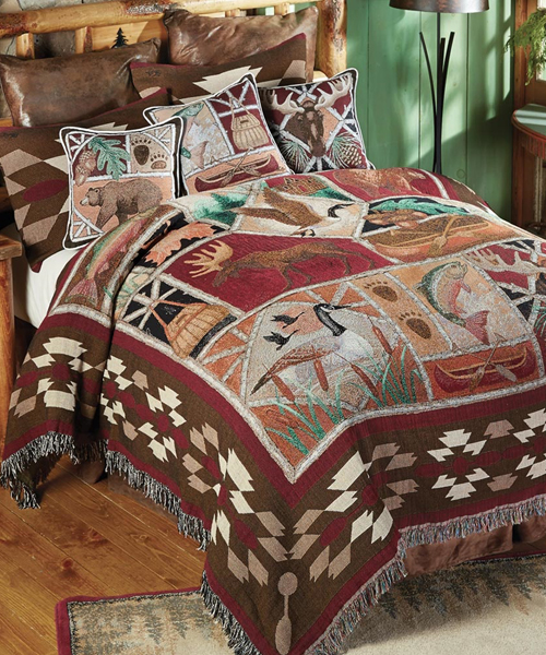 Wildlife Tapestry Bedding