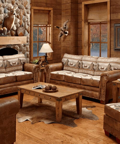 Alpine Lodge Sofa Collection