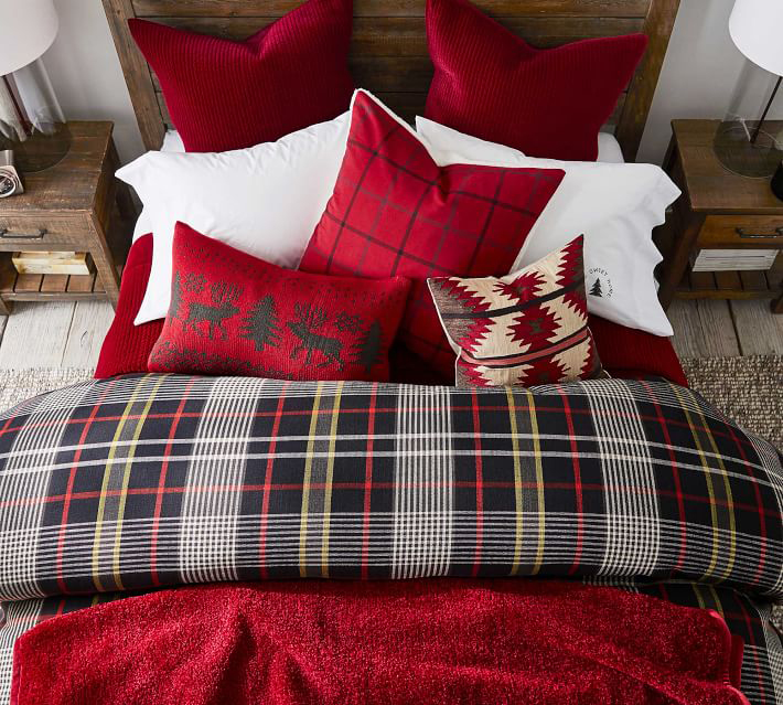 Carson Plaid Bedding