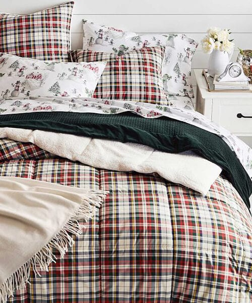 Denver Holiday Plaid Bedding