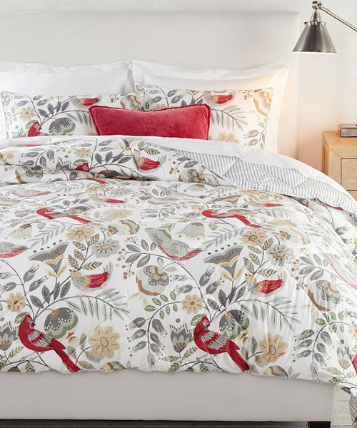 Jolly Bird Christmas Bedding
