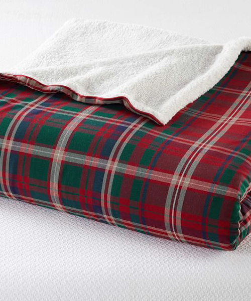 Lynbrook Plaid Blanket