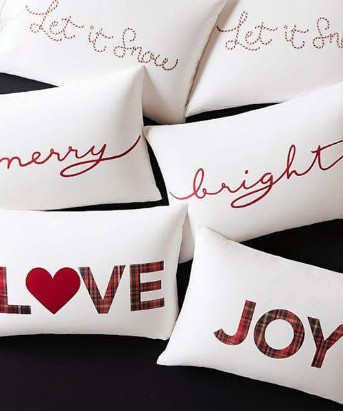 Merry & Bright Christmas Pillowcases