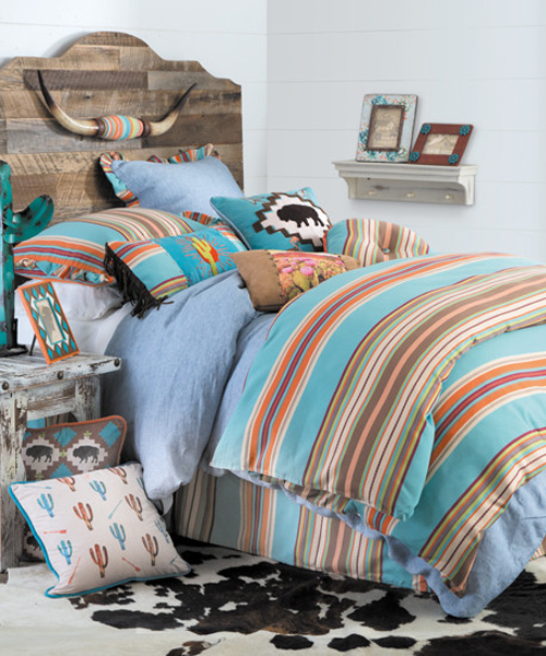 Western Chambray Bedding