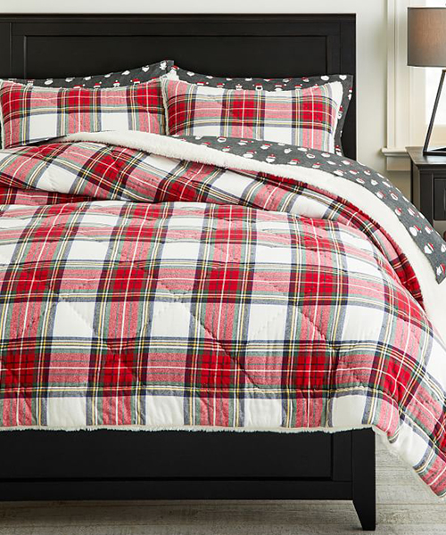 Kids Sherpa Bedding | Teen Holiday Bedding