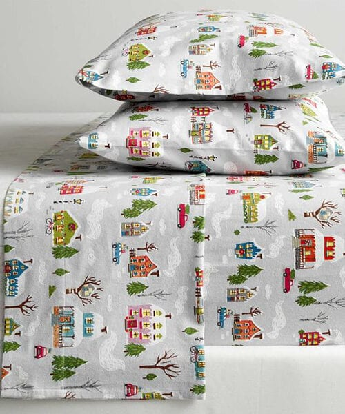 Winter Village Bedding