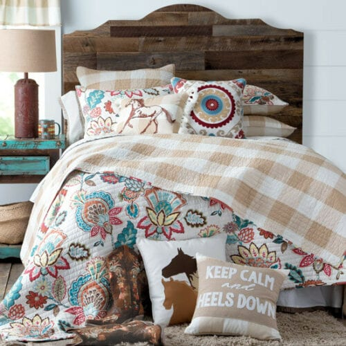 Buffalo Check Cowgirl Bedding