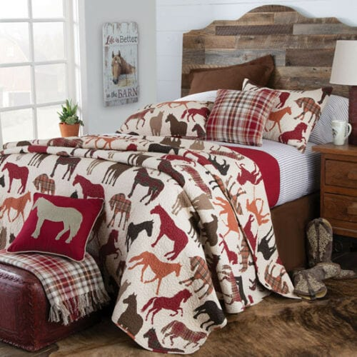 Horse Bedding Set