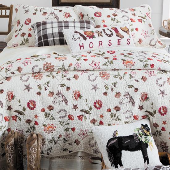 Vintage Horse Bedding