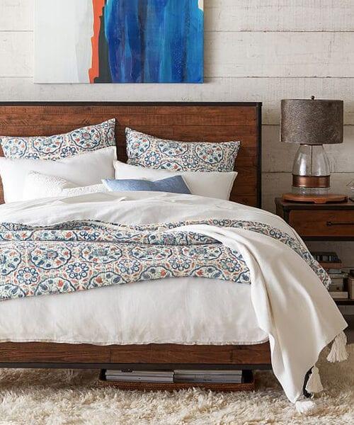Juno Reclaimed Wood Bed | Reclaimed Wood Bedroom Furniture