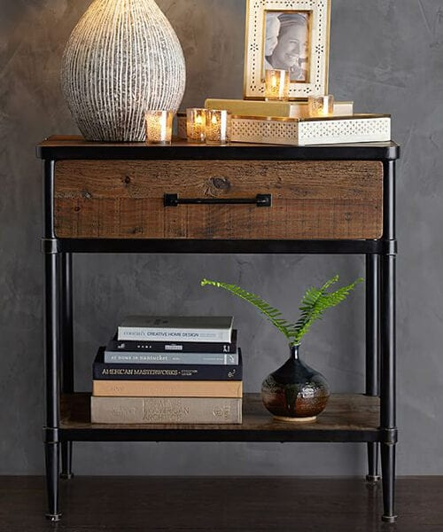 Juno Reclaimed Wood Nightstand
