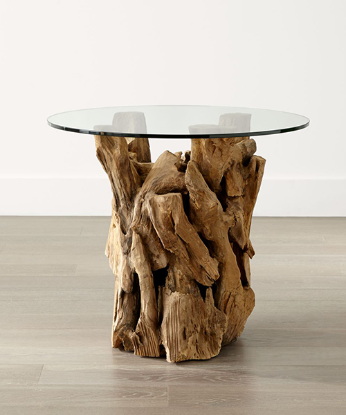 Rustic Driftwood Table