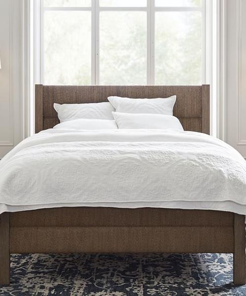 Farmhouse Woven Bed