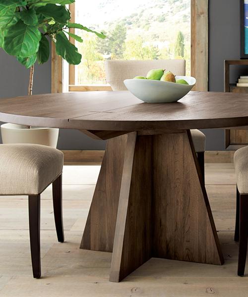 Shiitake Round Dining Table