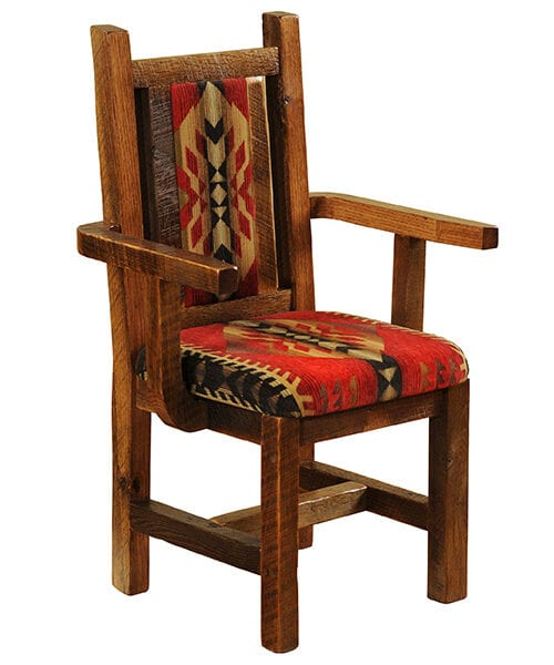 Artisan Barnwood Dining Room Chair