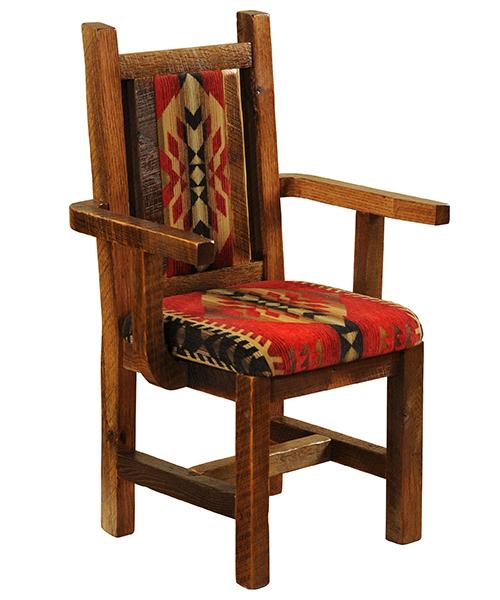 Artisan Barnwood Dining Room Chair