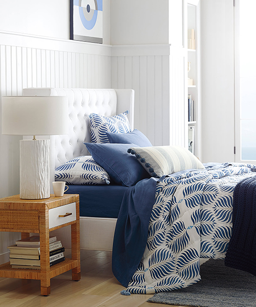 Granada French Blue Quilt