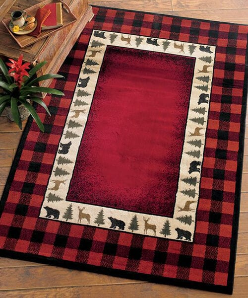 Rustic Buffalo Check Rug | Rustic, Southwestern & Lodge Rugs