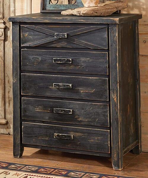 Rustic Reclaimed Barnwood Drawers | Rustic Bedroom Furniture