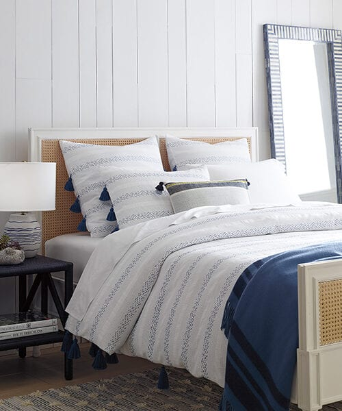 Sea Ranch French Blue Duvet Cover | Coastal Bedding