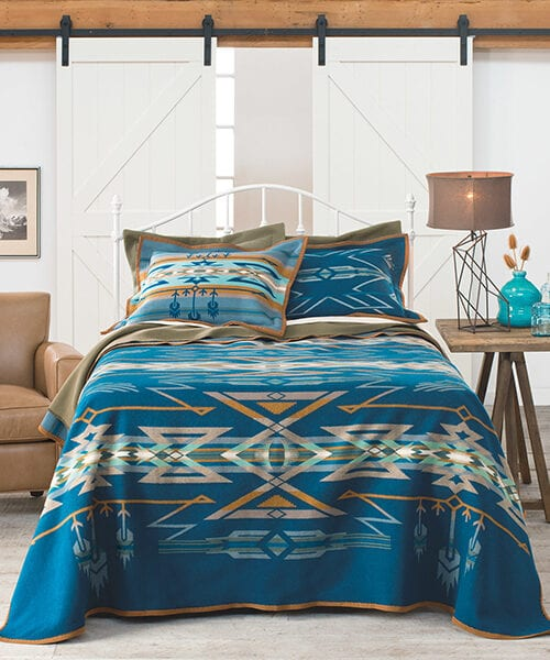 Pendleton Native American Blanket | Southwestern Decor