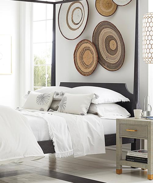 Maya White Coverlet | White Bedding Sets