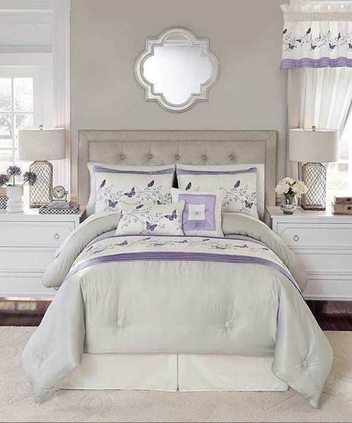 Croscill Nicola Butterfly Comforter