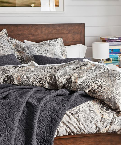 Medallion Printed Bedding