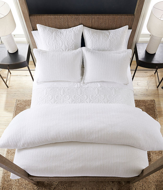 White Bedding Ideas | The White Tailored Bed