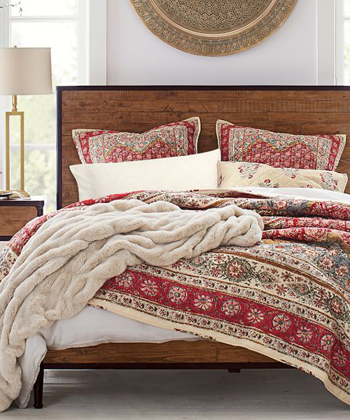 Zarina Reversible Cotton Quilt