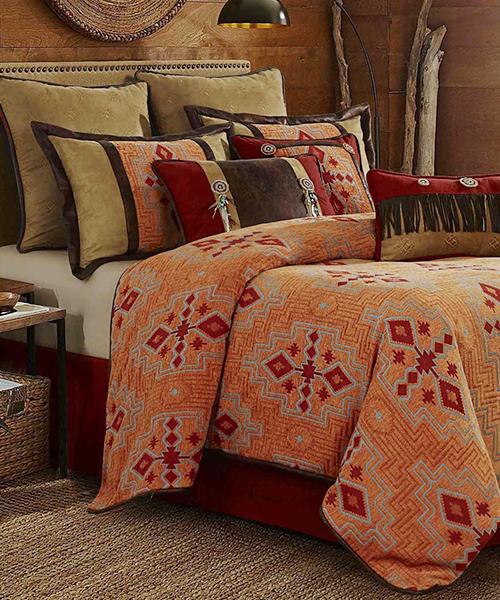 Desert Maze Southwestern Comforter