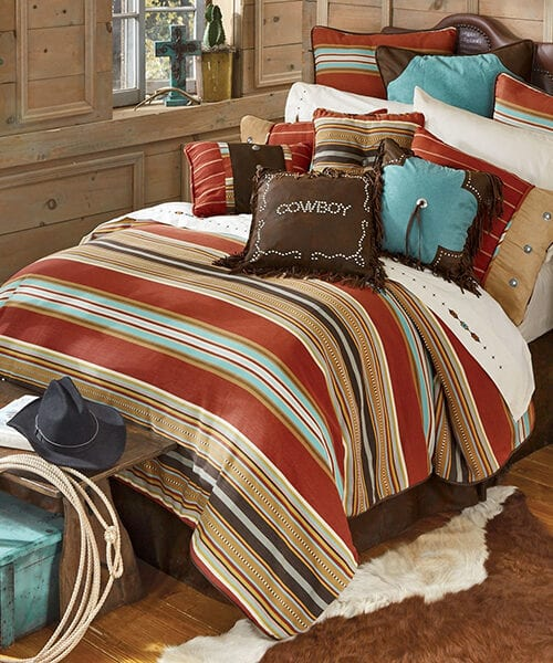 Calhoun Striped Western Bedding