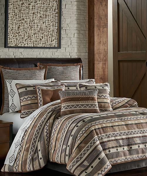 J Queen Timber Bedding