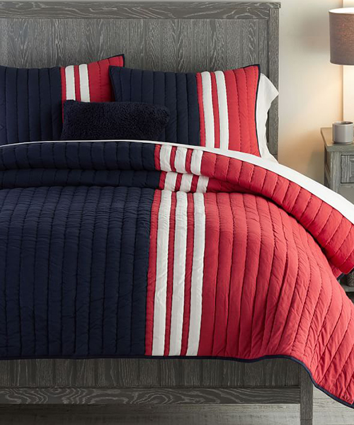 Kids Stripe Bedding