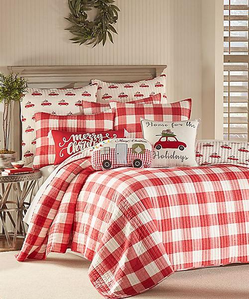 Buffalo Check Christmas Bedding