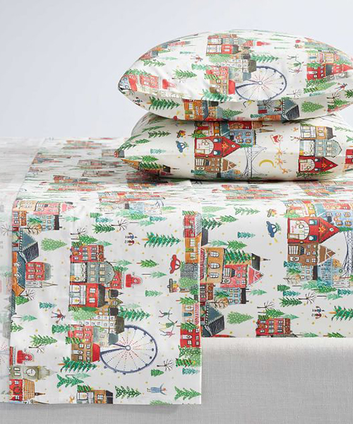 Christmas in the City Bedding