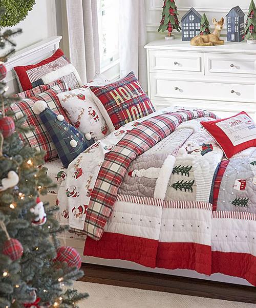 Kids Merry Christmas Quilt