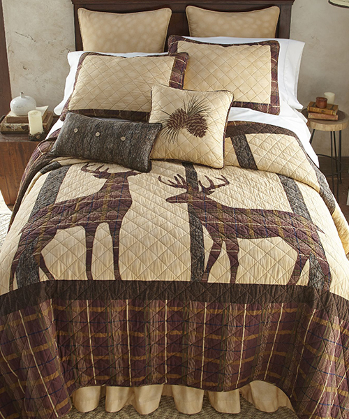 Donna Sharp Antler Woods Quilt Bedding