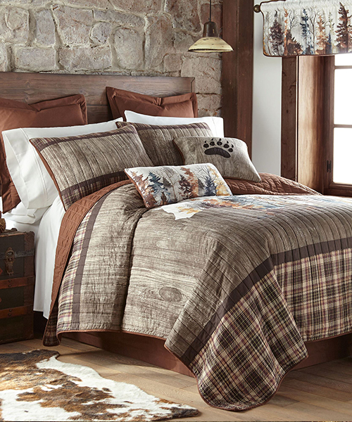 Donna Sharp Bear Bedding Quilt