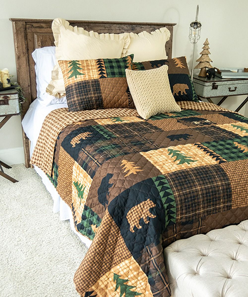 Donna Sharp Brown Bear Cabin Bedding