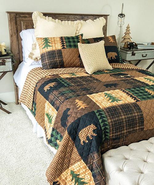 Donna Sharp Brown Bear Cabin Bedding