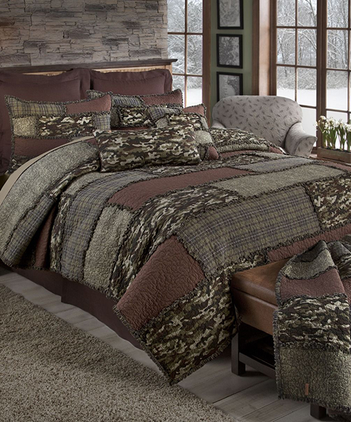 Donna Sharp Rustic Camo Bedding