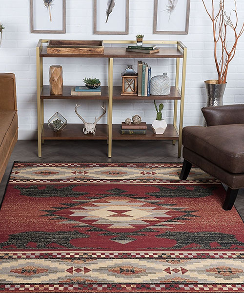 Natural Lodge Area Rug