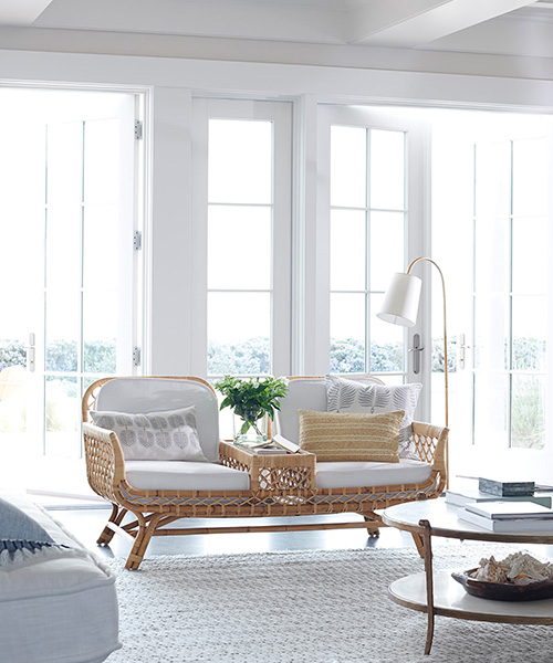 Avalon Two Seat Rattan Chair