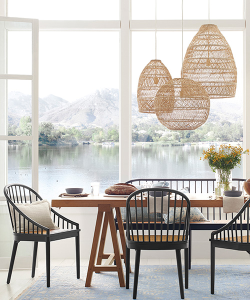 Headlands Large Rattan Pendant Lights