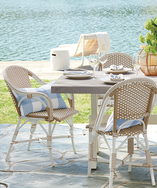 Outdoor Riviera Side Chair