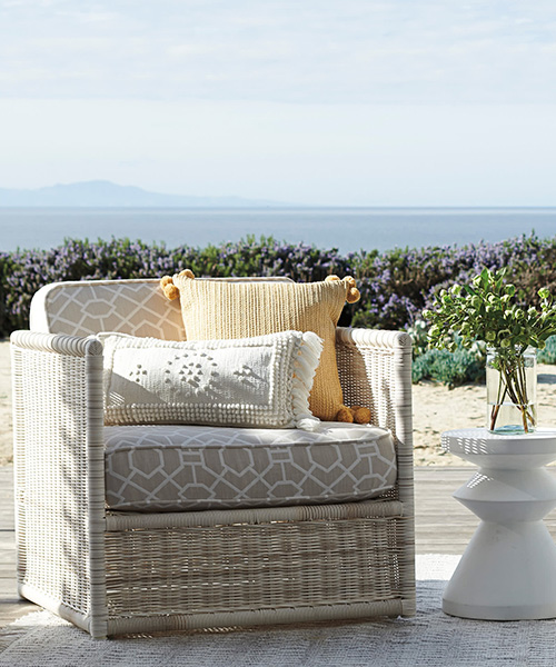 Pacifica Sun Bleached Outdoor Lounge Chair