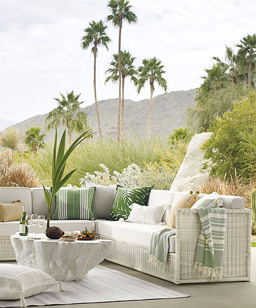 Pacifica Wicker Outdoor Sofa